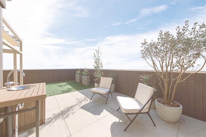 屋上庭園プラン